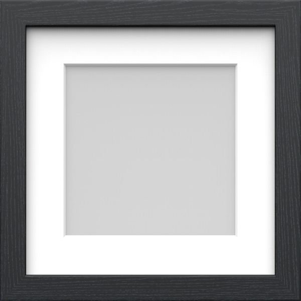 Black and White Square Frame