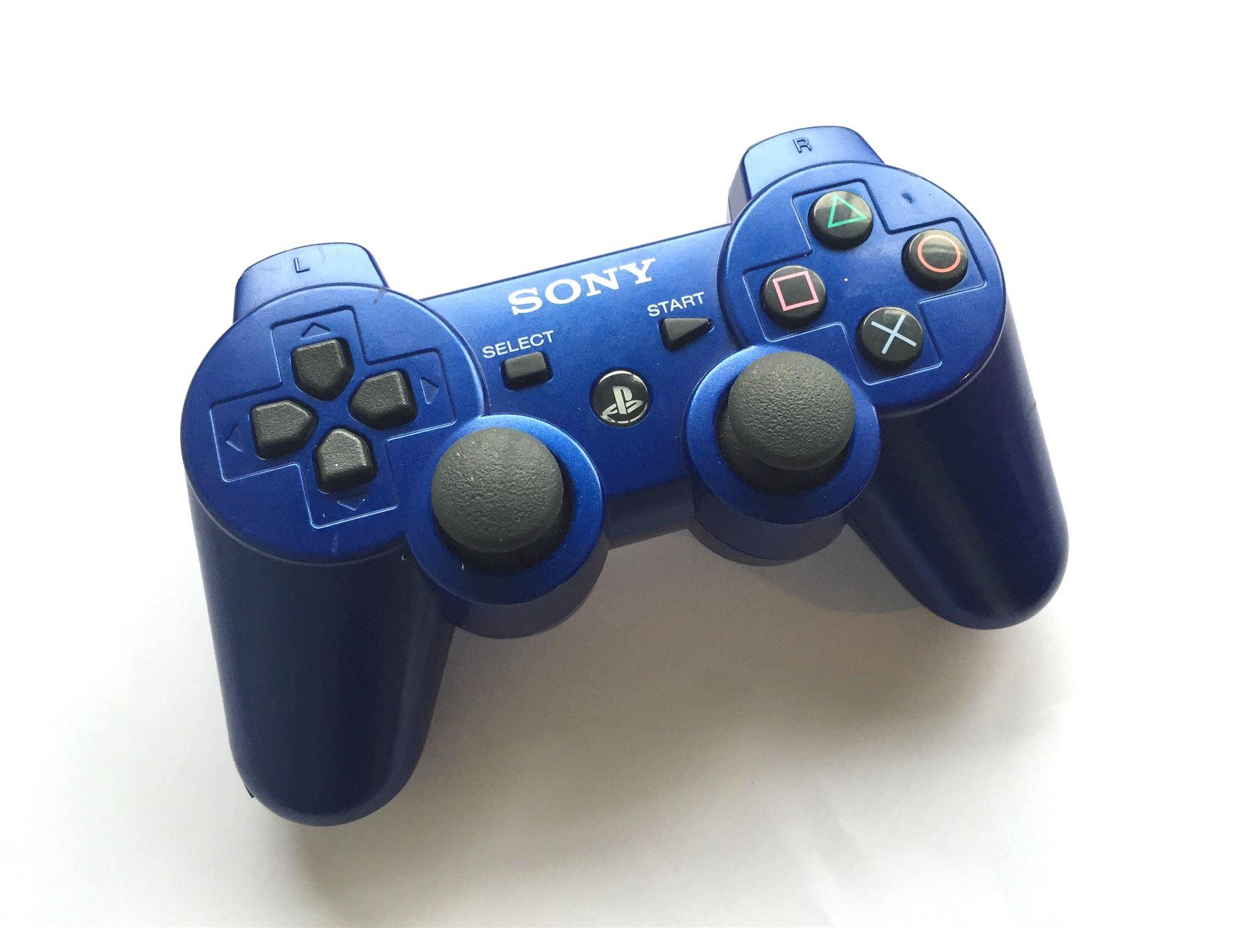Official Genuine Original Sony Dual Shock 3 PS3 Controller Blue | eBay