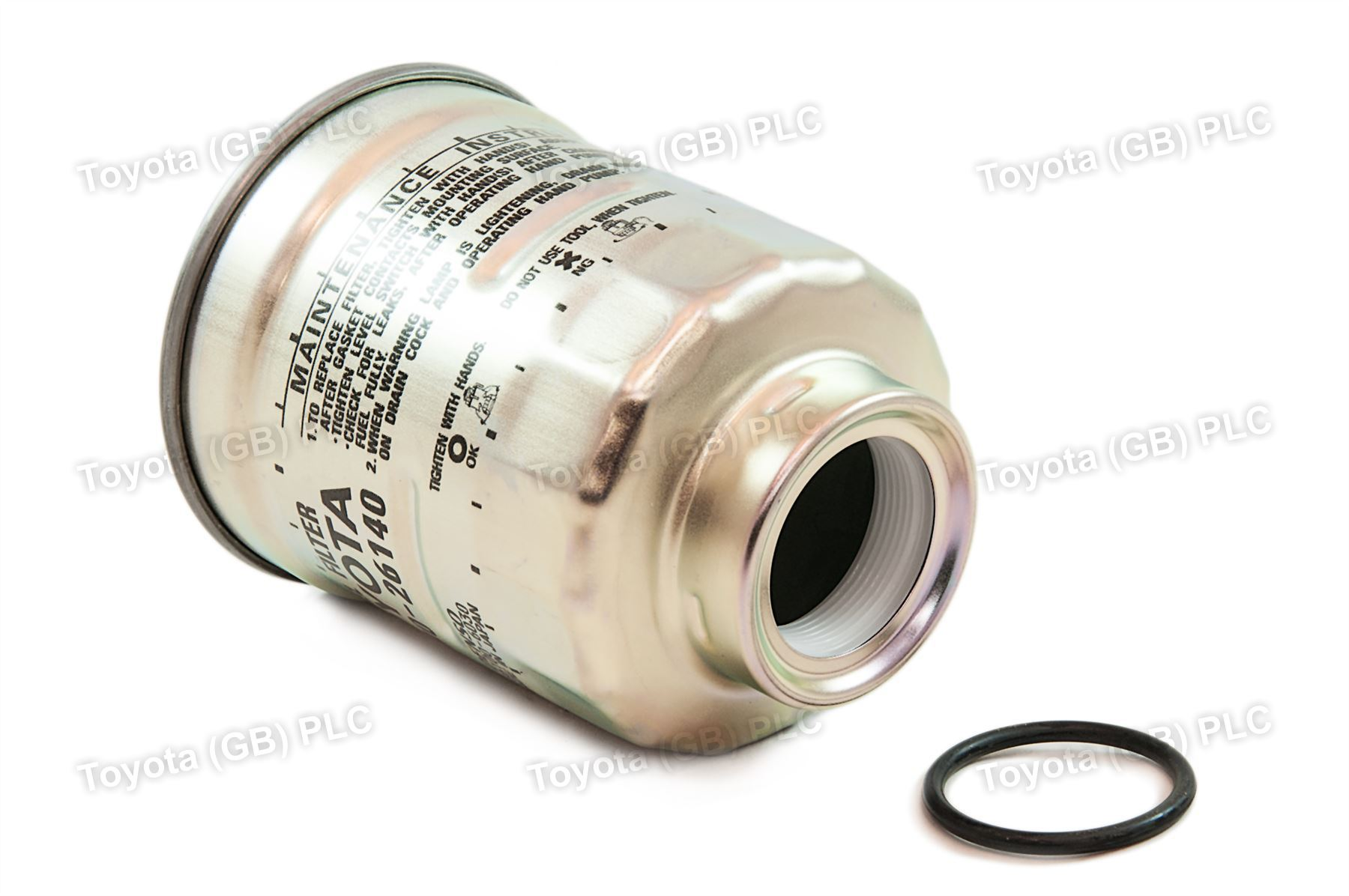 hight resolution of genuine toyota auris corolla car replacement fuel filter 2339026140
