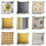 Ochre Cushion Covers Mustard Yellow Modern Luxury Sofa Cushions Cover 17 X 17 Ebay