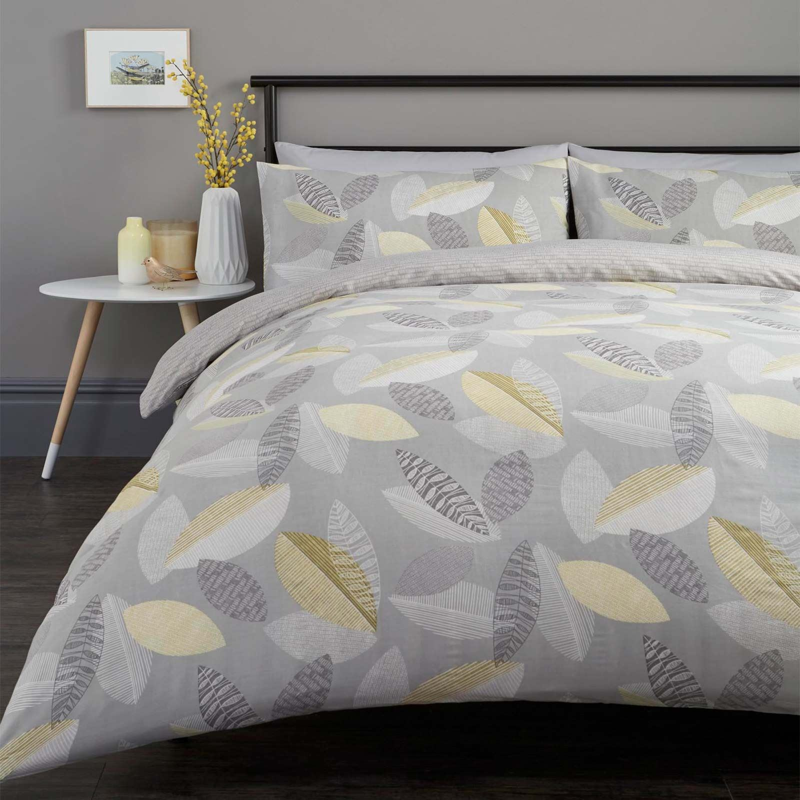 King Size Yellow Quilt Set