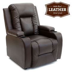 Leather Recliner Chairs Modern Uk White Wooden Folding Oscar W Drink Holders Armchair Sofa Chair