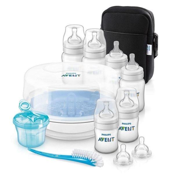 Philips Avent Bottle Feeding Essentials Set 1 2 3 6