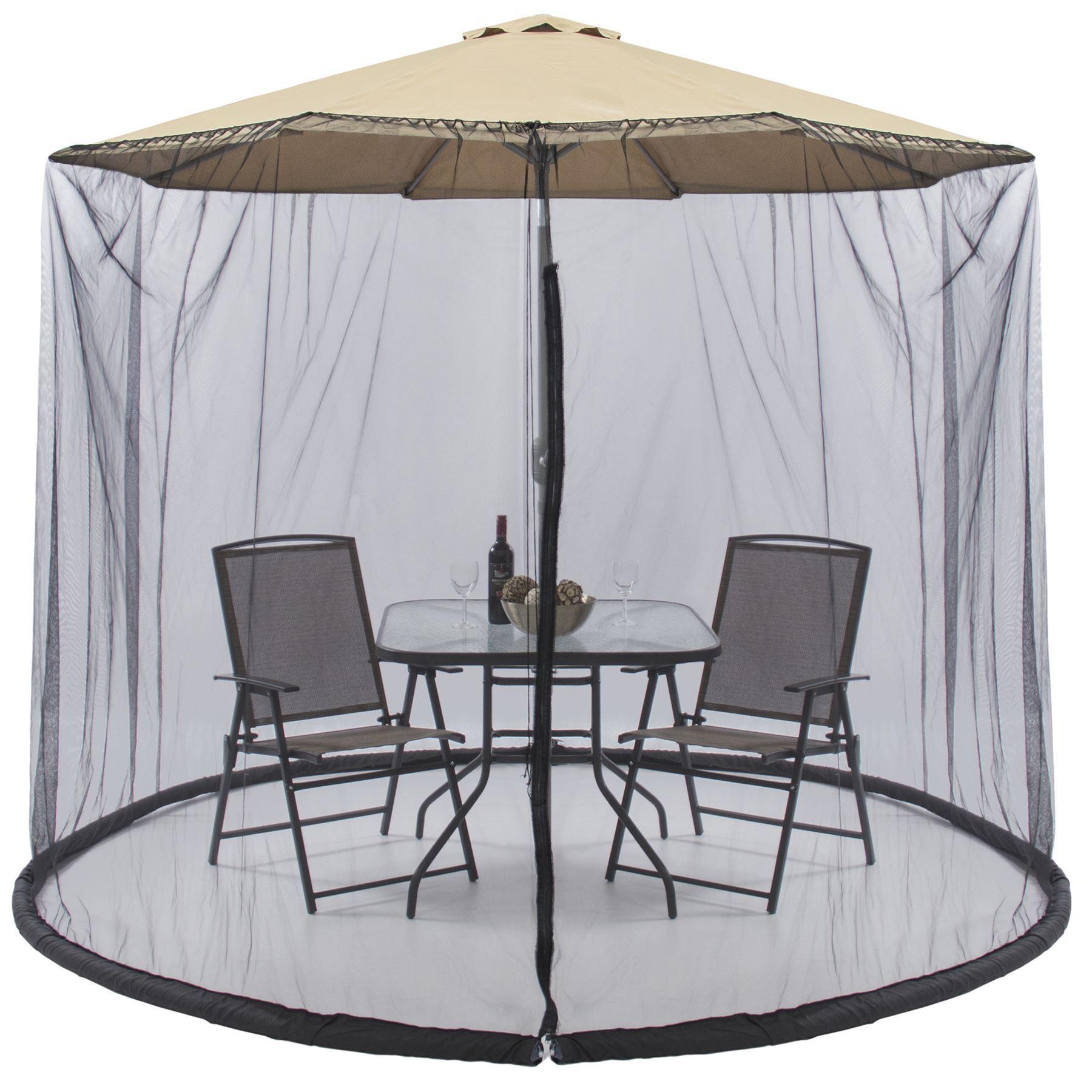 New Patio Picnic 7.5 FT Umbrella Table Screen Enclosure