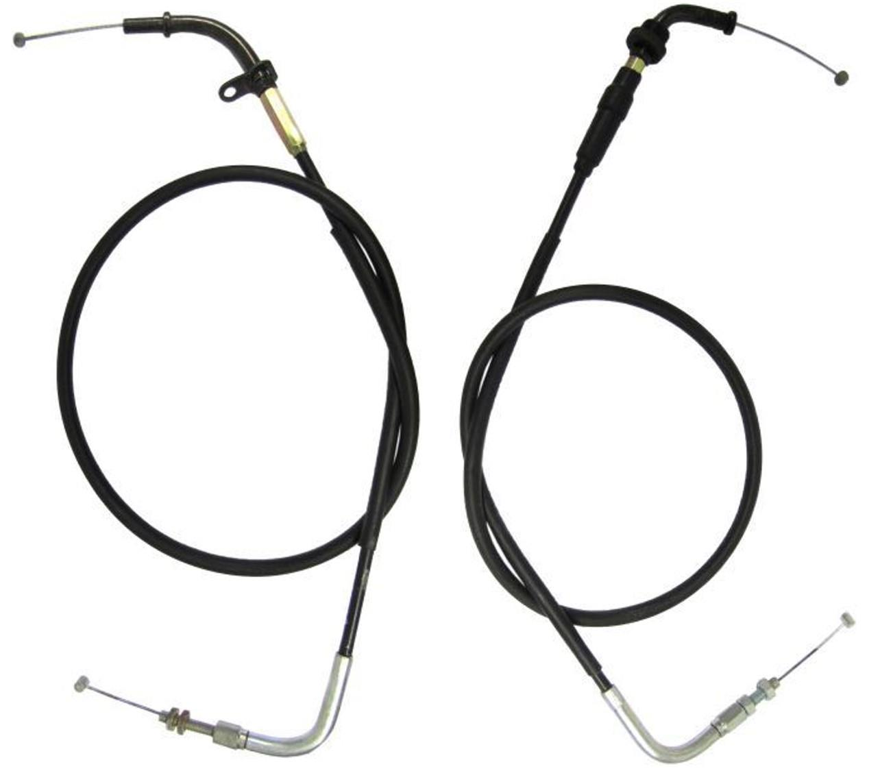 Suzuki GSF1200 Bandit Throttle Cables Push and Pull (Pair