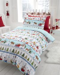 Christmas Kids Quilt Duvet Cover Bedding Bed Sets 5 Sizes ...