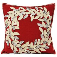 Ebay Uk Christmas Chair Covers Recovering Lawn Chairs Paoletti Cushion Cover Scatter Case Festive Xmas