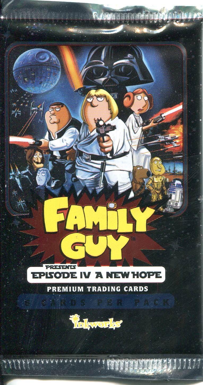 Family Guy Star Wars Full Episodes : family, episodes, Family, Factory, Sealed, Hobby, Packet