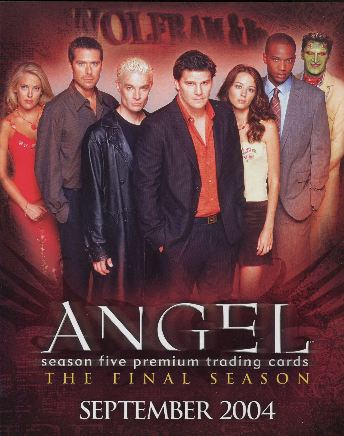 Angel Season 5 : angel, season, Angel, Season, Official, Inkworks, Sellsheet, Sheet