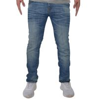 MENS DESIGNER FLEX DENIM SKINNY STRETCH SLIM FIT JEANS ALL