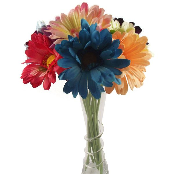 Single Xl Soft Touch Gerbera Artificial Flowers Stem