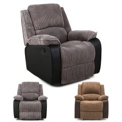 Electric Reclining Chair Sling Fabric By The Yard Postana Jumbo Cord Power Recliner Armchair