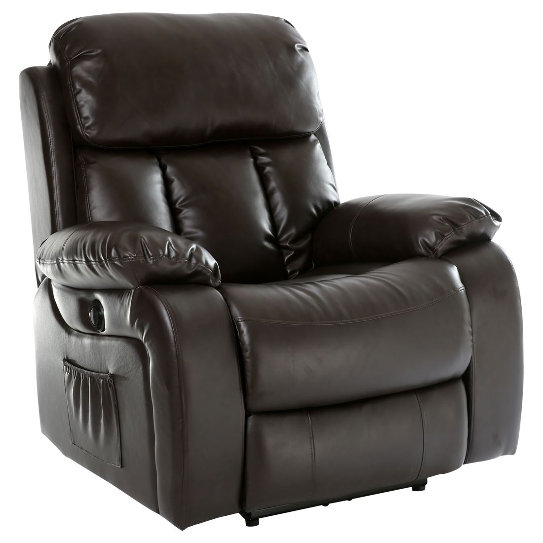 recliner gaming chair white slip covered dining room chairs chester electric heated leather massage