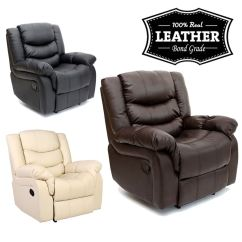 Leather Recliner Chairs Modern Uk French Club Chair Seattle Armchair Sofa Home Lounge