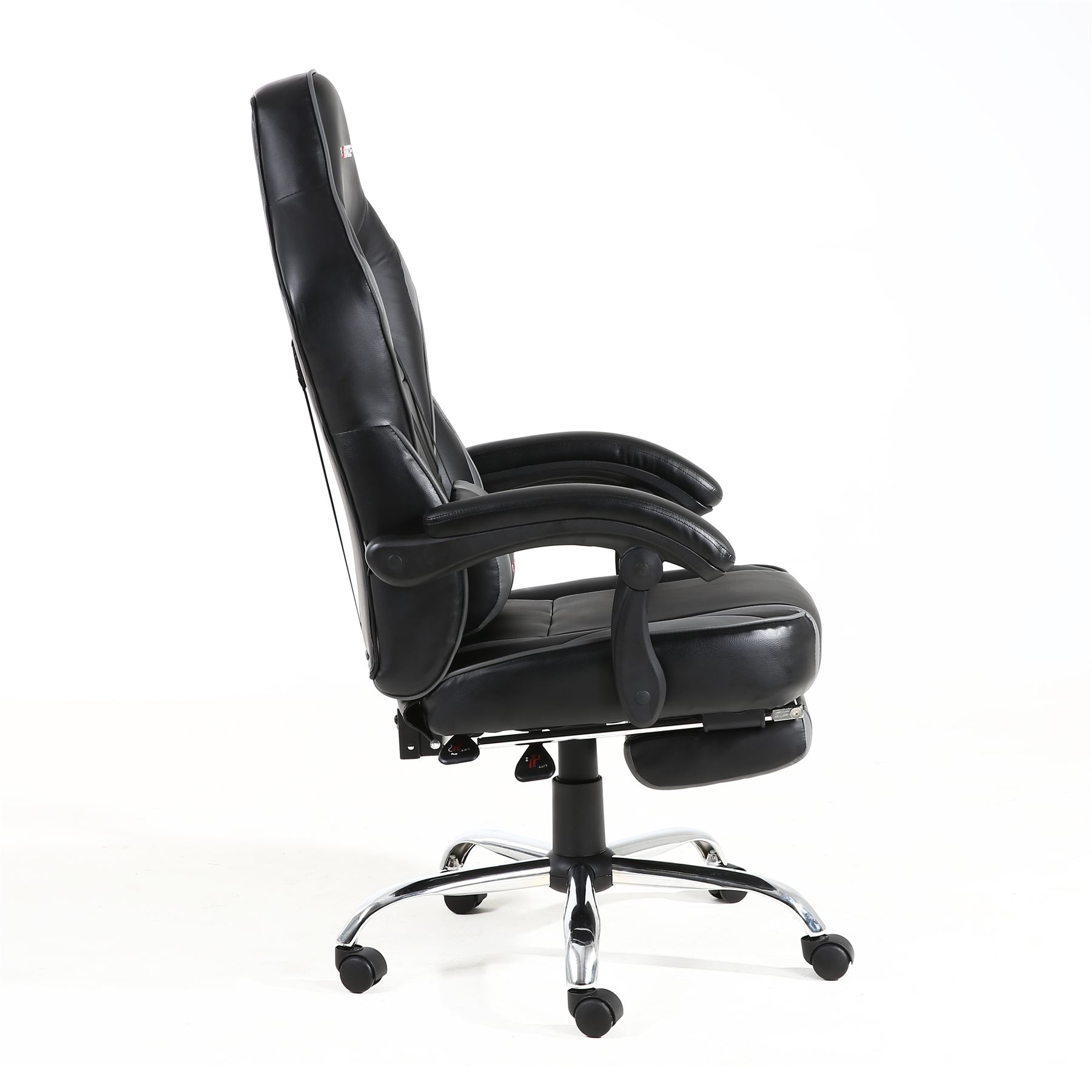 Recliner Computer Chair Gtforce Pace Reclining Leather Sports Racing Office Desk