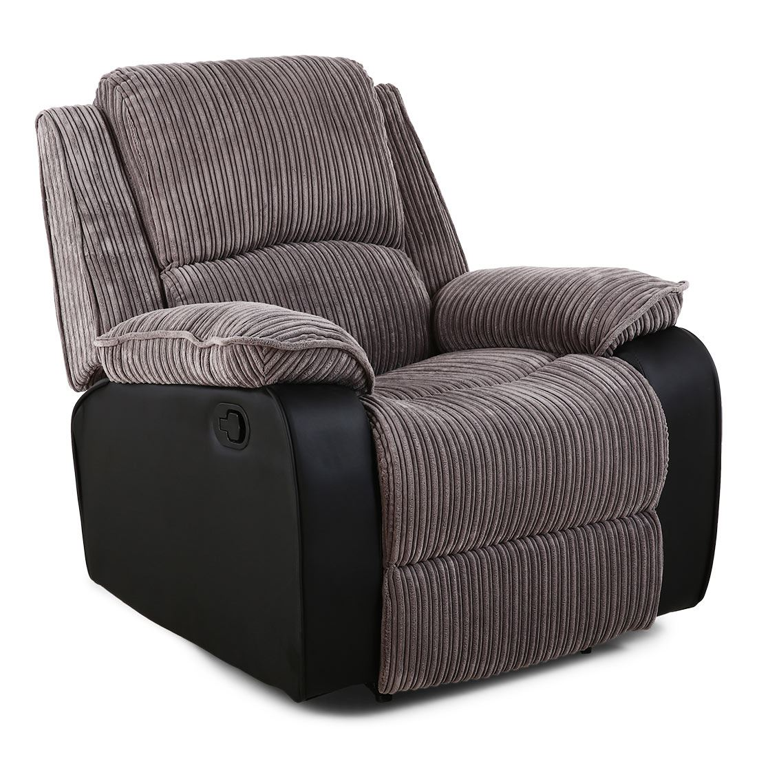 Reclining Lounge Chair Postana Jumbo Cord Fabric Recliner Armchair Sofa Lounge