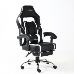 Racing Desk Chair Folding Nsn Gtforce Pace Reclining Leather Sports Office