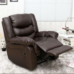 Gaming Lounge Chair Pads For Bottom Of Legs Seattle Leather Recliner Armchair Sofa Home