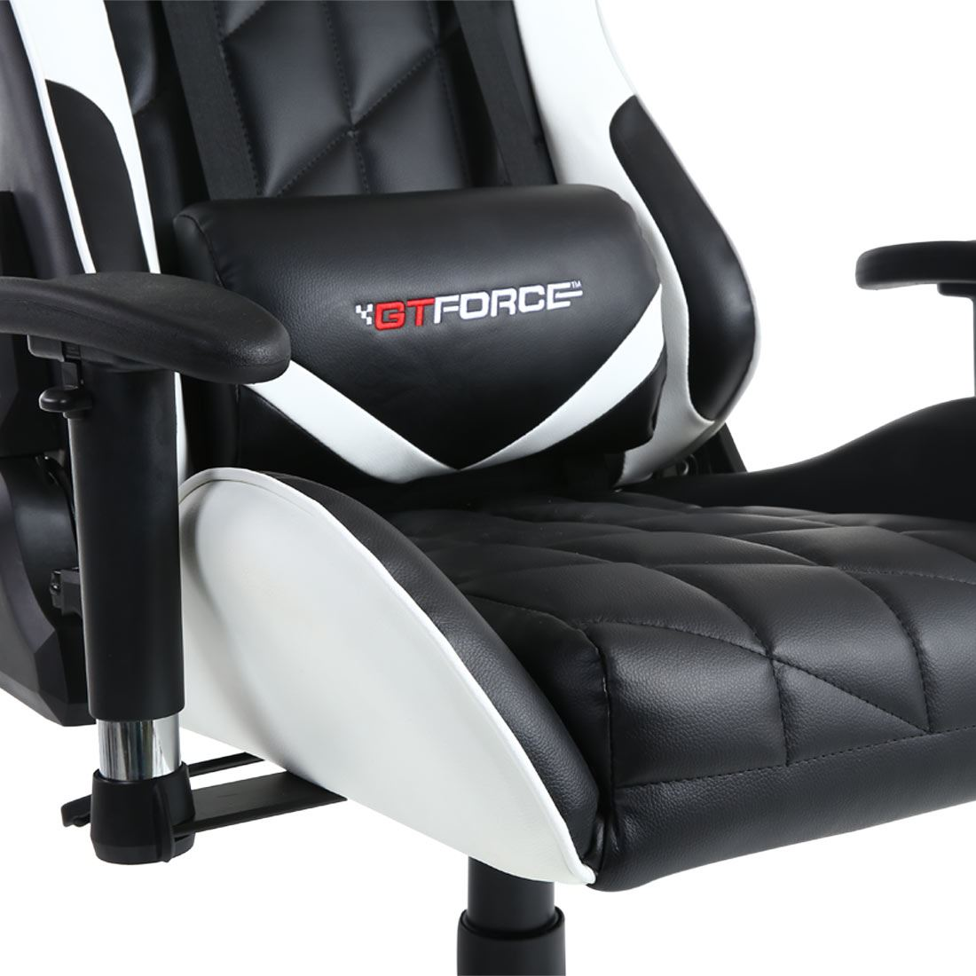 racing seat office chair diy roman workout routine gtforce pro gt reclining sports gaming desk