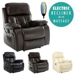 Electric Recliner Sofa Not Working Twin Size Bed Ikea Chester Heated Leather Massage Chair