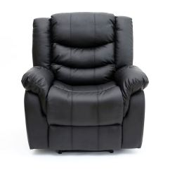 Recliner Gaming Chair Rolling Dining Room Chairs Seattle Leather Armchair Sofa Home Lounge