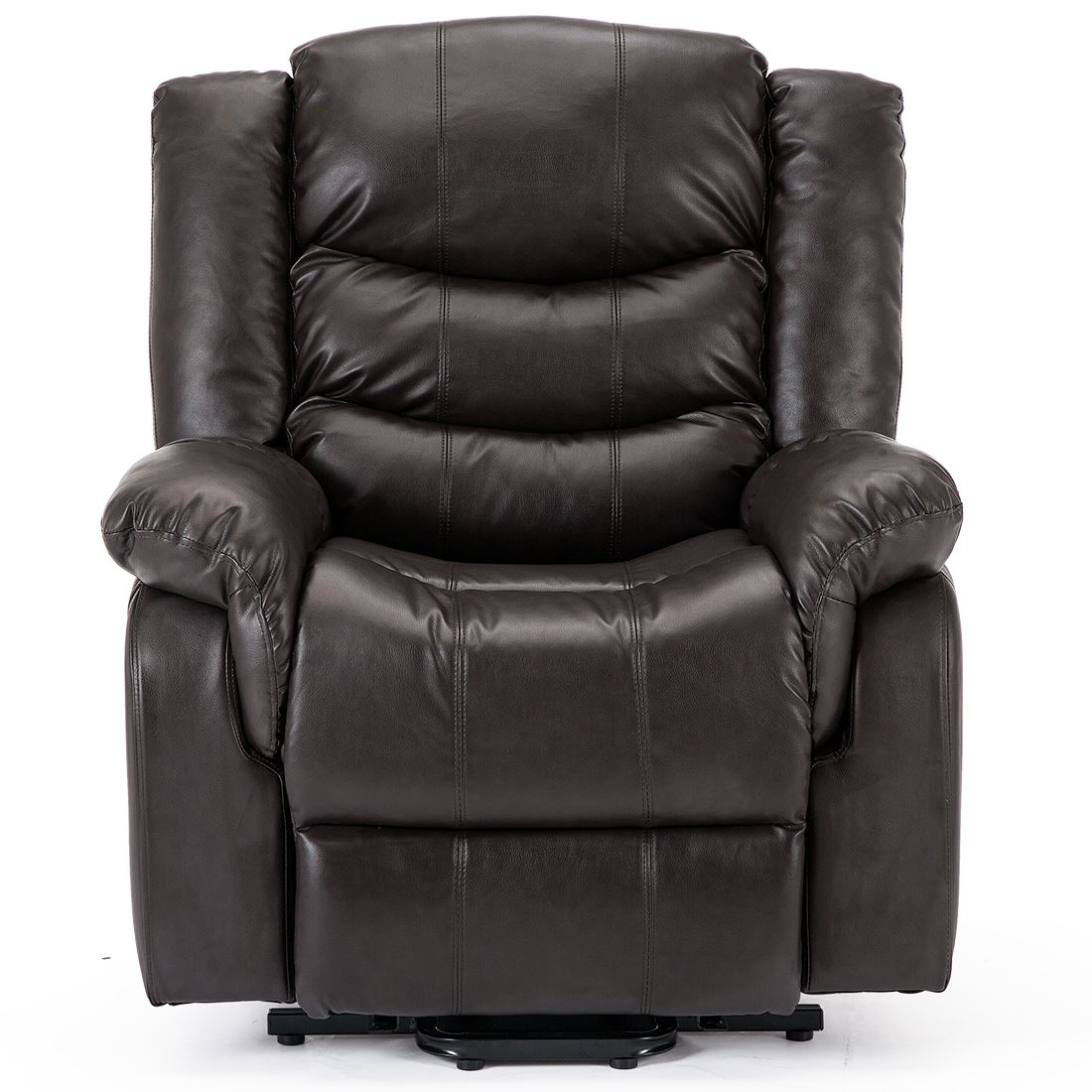Real Leather Recliner Chairs Seattle Electric Rise Real Leather Recliner Armchair Sofa