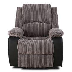 Electric Recliner Sofa Chair Motor Tufted Sectional Chaise Postana Jumbo Cord Fabric Power Armchair