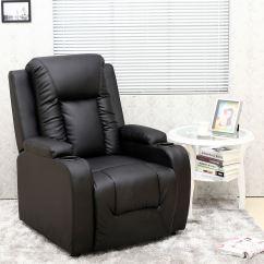 Sofa Armchair Drink Holder Caddy Baseball Stitch Oscar Leather Recliner W Holders Chair