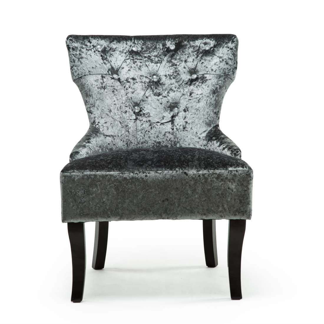 high back velvet chair uk adirondack accessories rheya crushed wing occasional accent bedroom