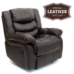 Lounge Chair Leather Gaming Imperator Seattle Recliner Armchair Sofa Home