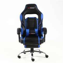 Racing Seat Office Chair Diy Cheap Waiting Room Chairs Gtforce Pace Reclining Leather Sports Desk