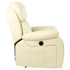 Massage Gaming Chair Elegant Accent Chairs Chester Electric Heated Leather Recliner