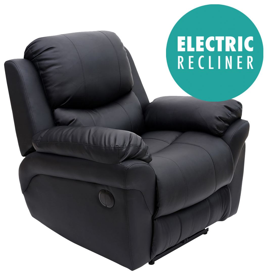 Electric Reclining Chair Madison Electric Leather Auto Recliner Armchair Sofa Home
