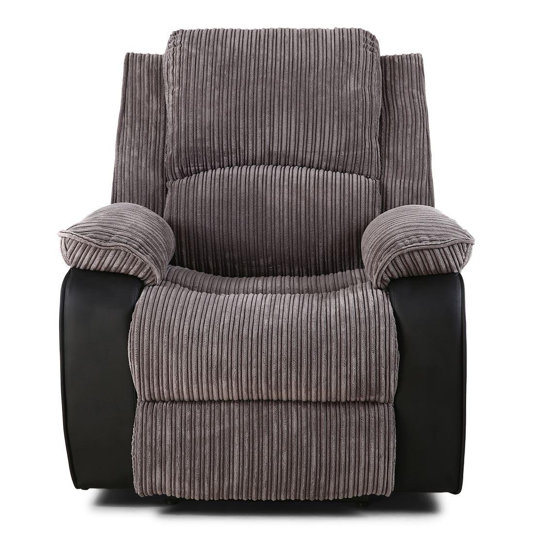 power recliner chairs uk girls table and postana jumbo cord fabric armchair electric
