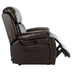 Massage Gaming Chair La Z Boy Swivel Chester Electric Heated Leather Recliner