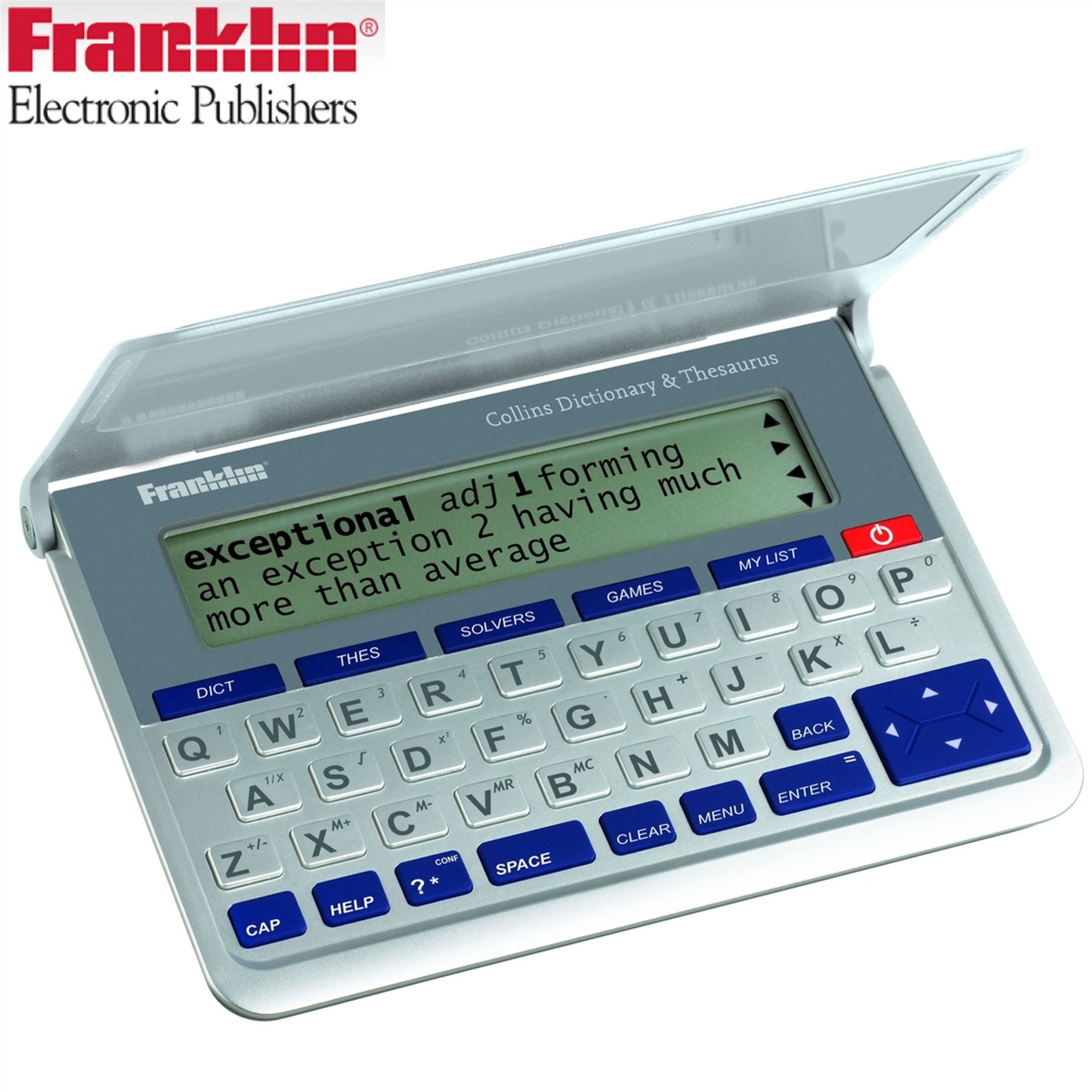 Franklin Pocket Collins English Dictionary And Thesaurus