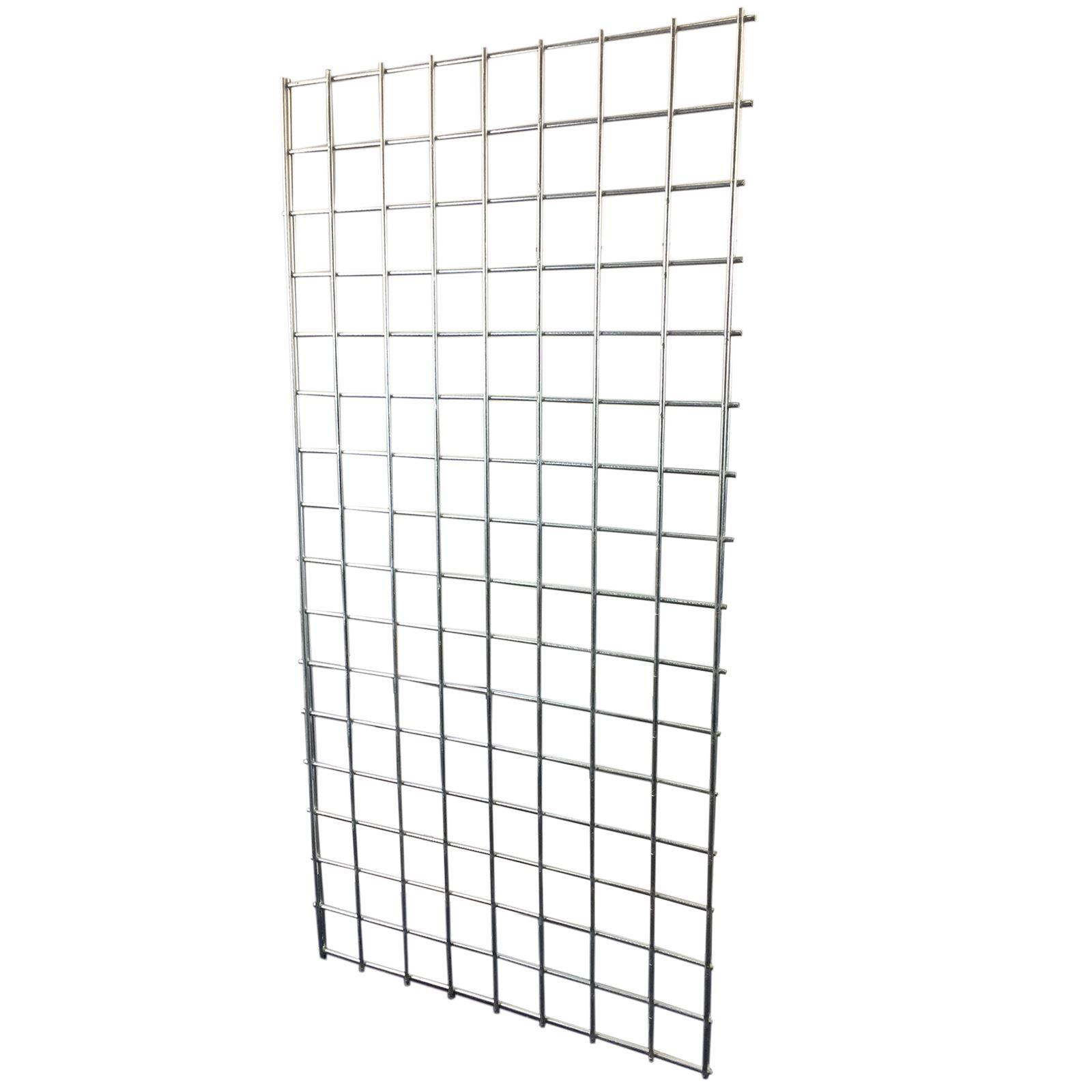 Simpa® Heavy Duty Steel Retail Shop Fitting Grid Display
