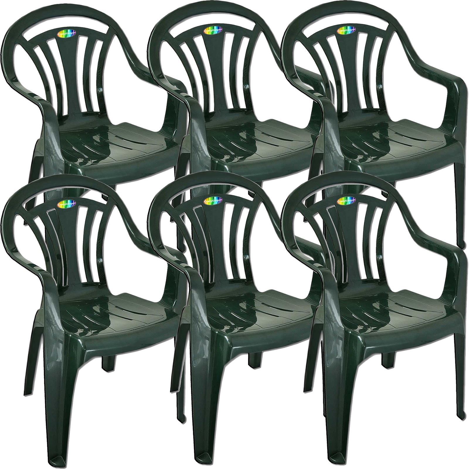 Low Back Lawn Chairs Plastic Garden Low Back Chair Stackable Patio Outdoor
