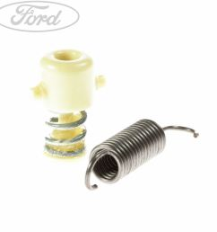 details about genuine ford focus mk2 clutch pedal spring kit 1463580 [ 1800 x 1800 Pixel ]