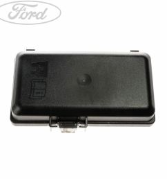 details about genuine ford transit mk 7 additional fuse box cover 1579004 [ 1800 x 1800 Pixel ]