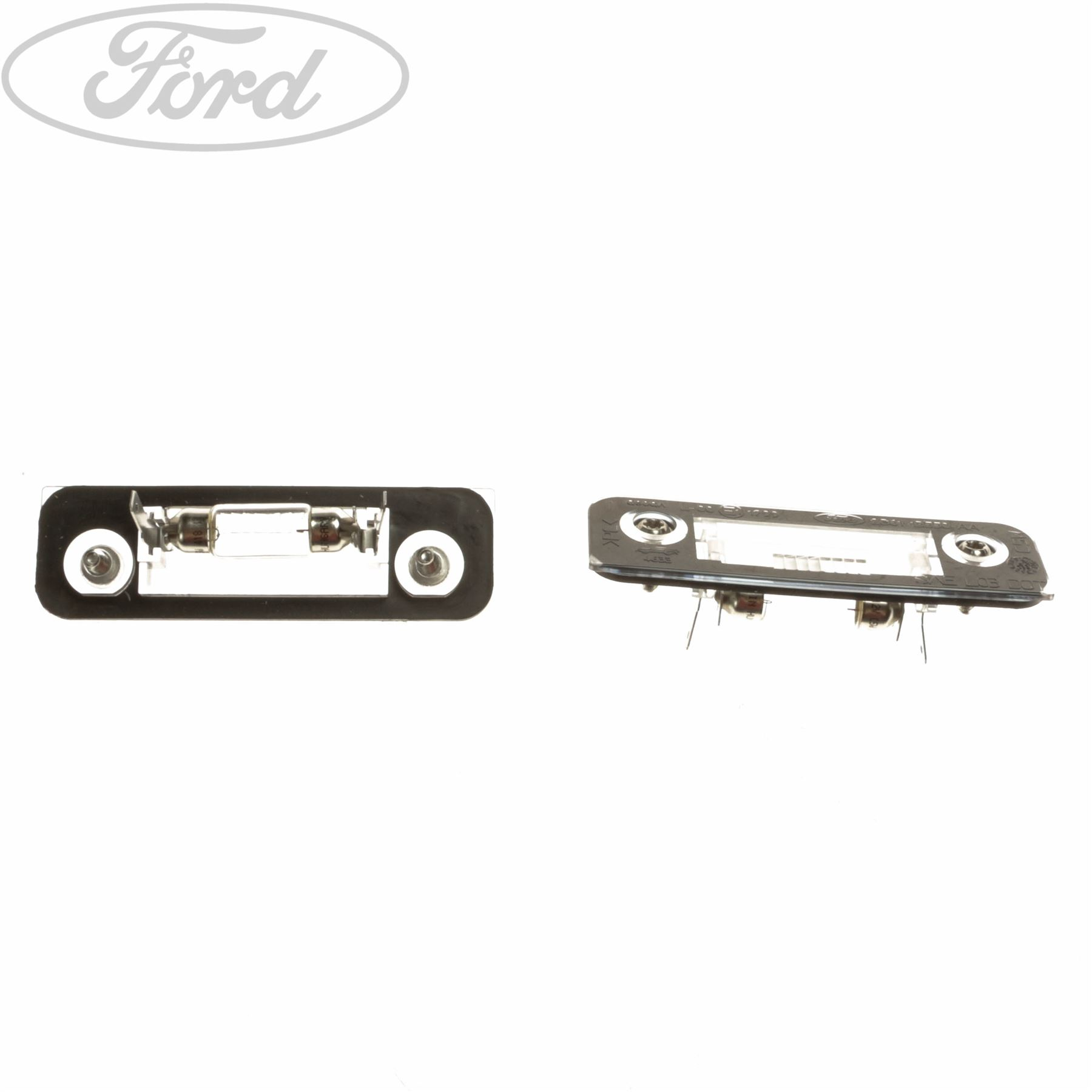 hight resolution of details about genuine ford mondeo mk1 mk2 fiesta mk6 fusion number plate light lamp 1332916