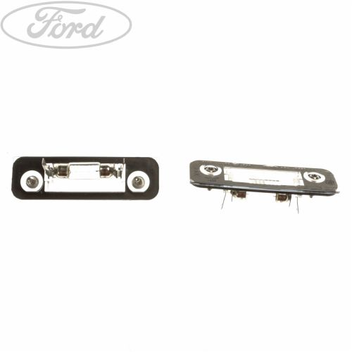 small resolution of details about genuine ford mondeo mk1 mk2 fiesta mk6 fusion number plate light lamp 1332916