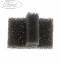 details about genuine ford fiesta mk7 mk8 b max zetec s air box filter pad 1541513 [ 1552 x 1552 Pixel ]