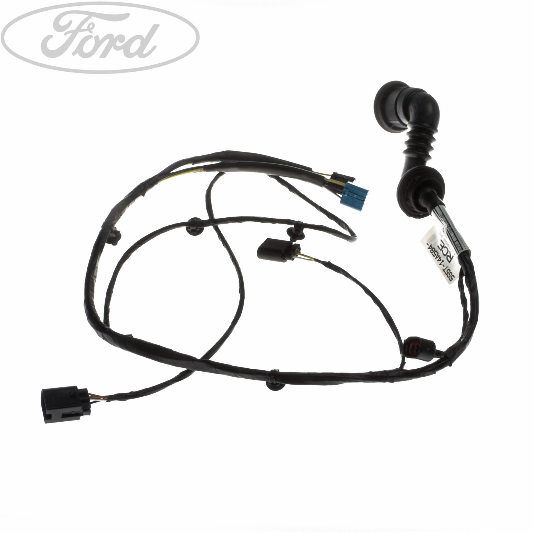 hight resolution of details about genuine ford ka mk1 front drivers door locking system wiring 1478707