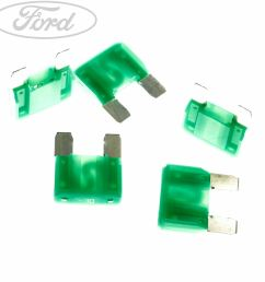 details about genuine ford focus mk1 maxi 30 amp fuse 3849960 [ 1800 x 1800 Pixel ]
