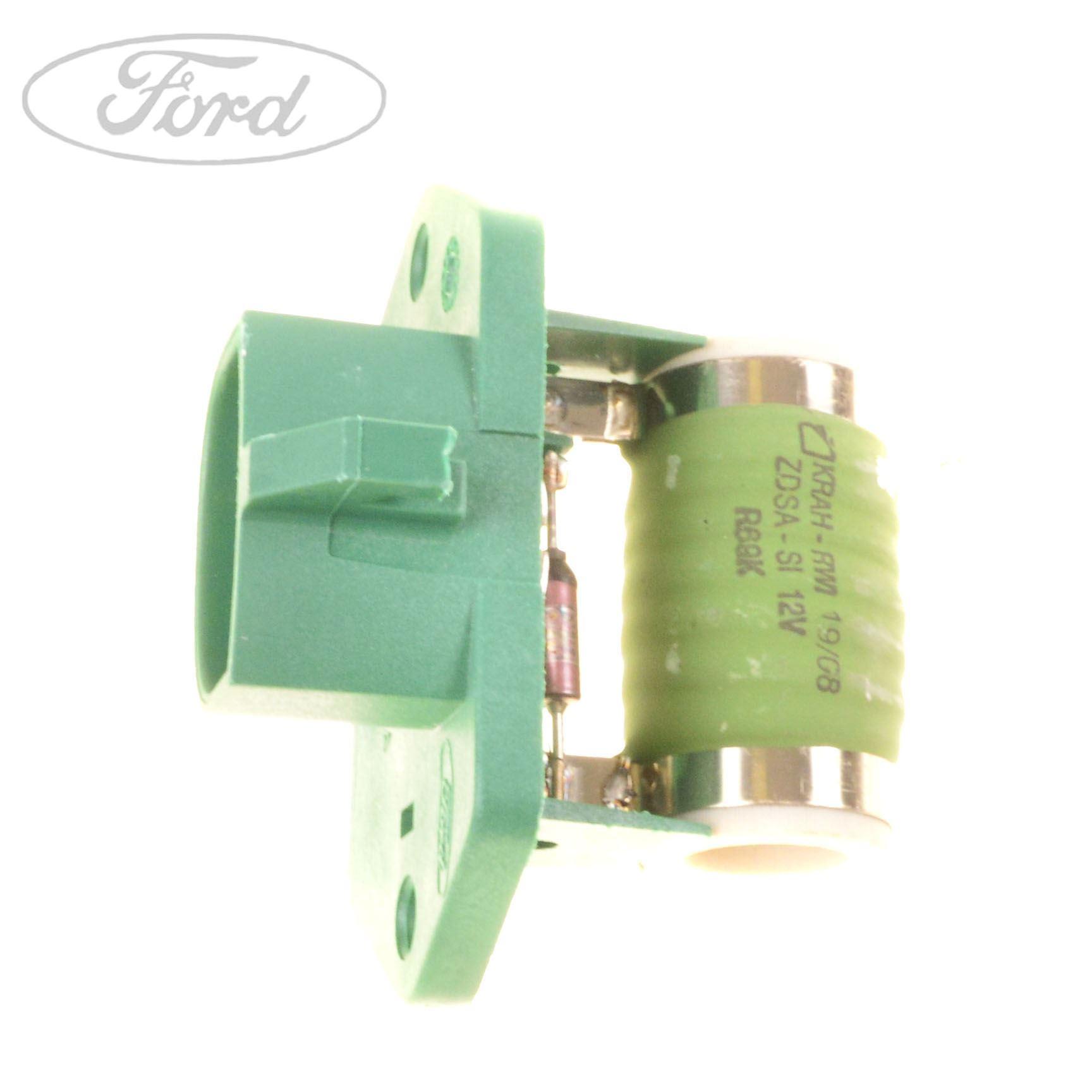 hight resolution of details about genuine ford fiesta mk4 fiesta mk6 fusion heater resistor 1364715