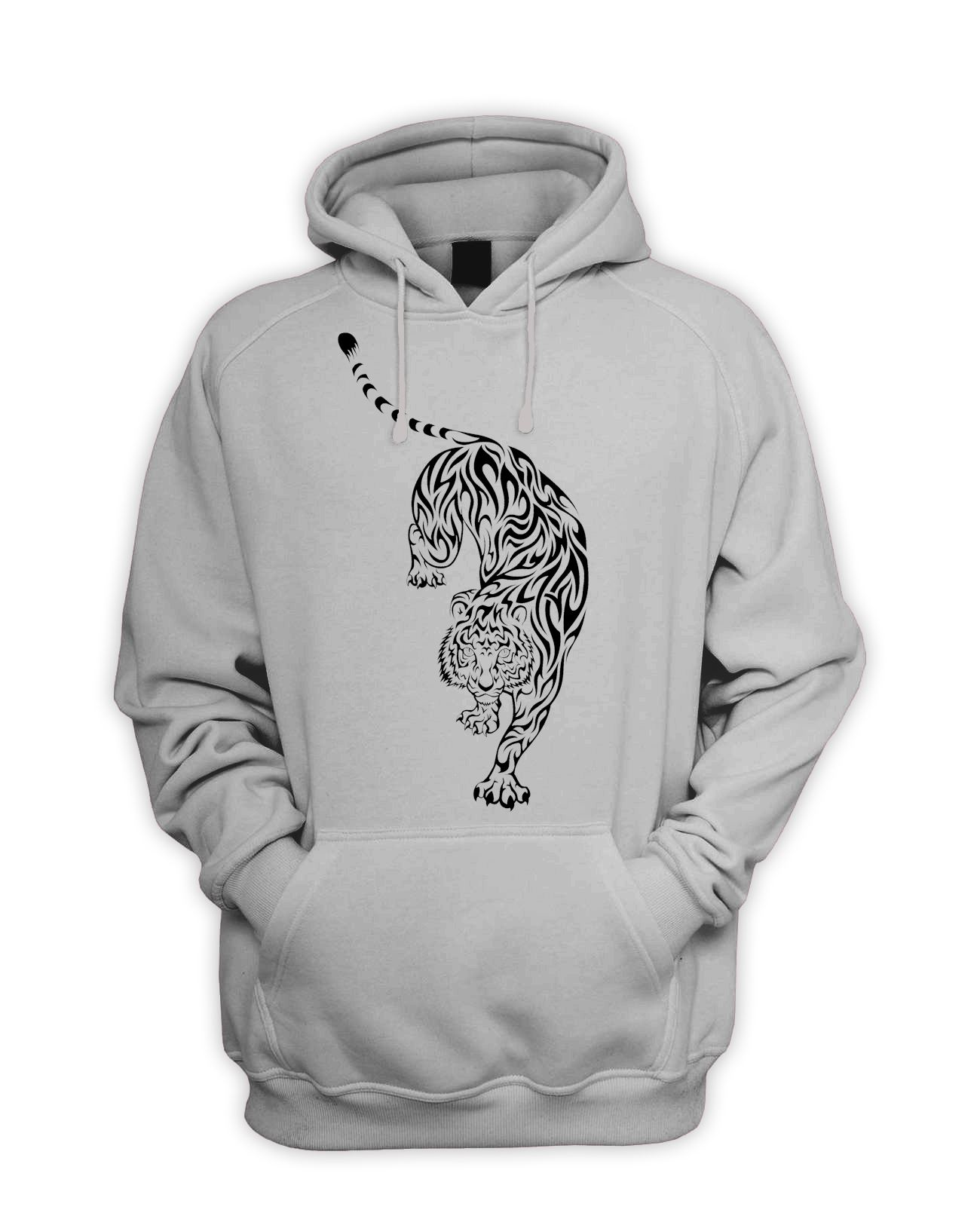 Celtic Tribal Tattoo Designs Mens Hoodie