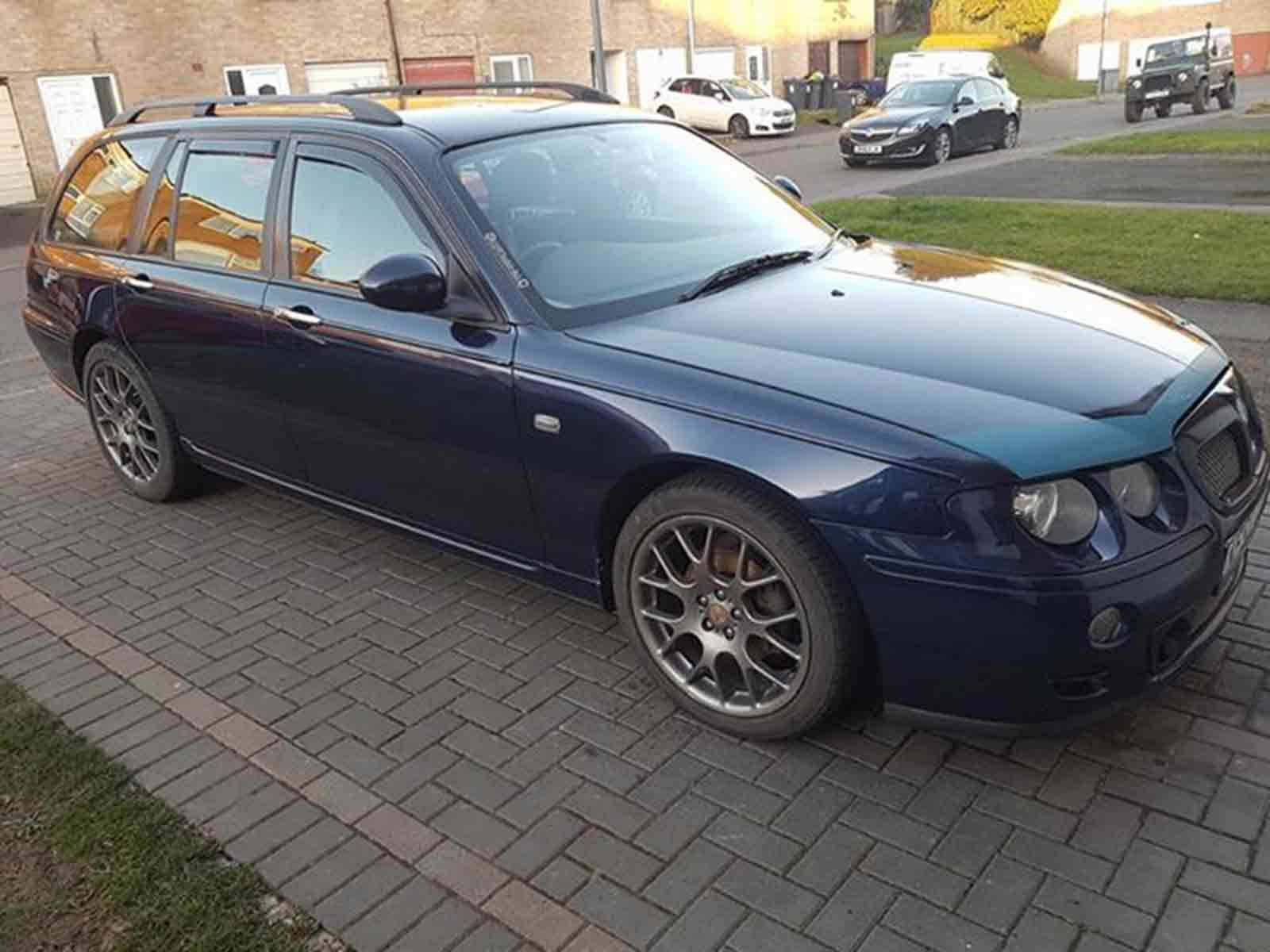 hight resolution of tinted front rear 4 piece set heko wind deflectors for rover 75 99 05