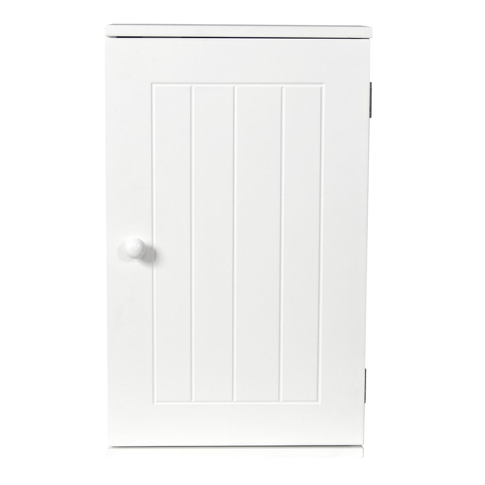 Priano Bathroom Cabinet Wall Mounted Single Door Cupboard