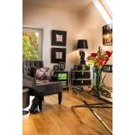 Large Lantern Black Wood Glass Rope Candle Holder Gift Decor Big Living 5054790336035 Ebay